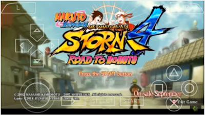Naruto Ultimate Ninja Storm 4 Lite For Android