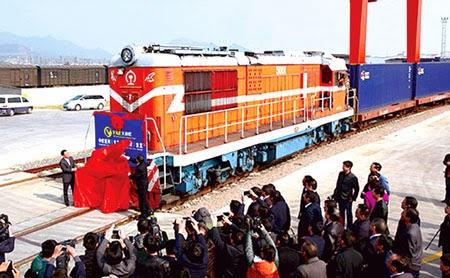 Hiện thực hóa tham vọng mới của Trung Quốc đường sắt xuyên Á-Âu