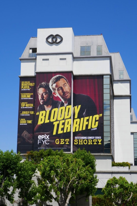 Giant Get Shorty Bloody terrific 2018 Emmy FYC billboard
