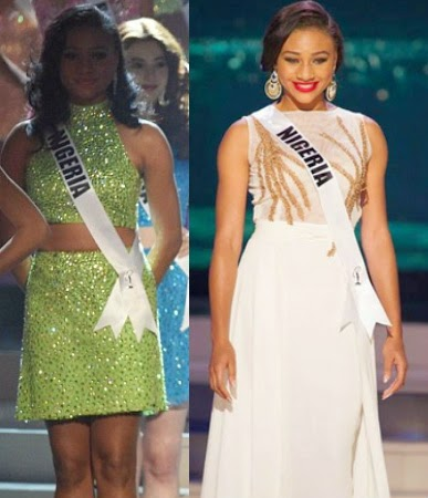 miss nigeria universe 2015 bows live tv