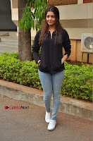 Actress Ritika Singh Stills at Guru Movie Success meet  0041.JPG