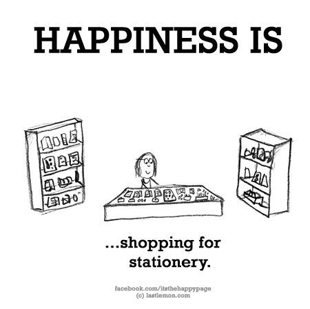 what would hannah wear happiness is shopping for stationery