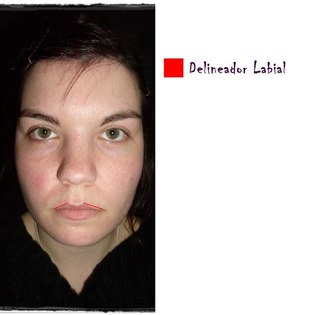 delineador labial