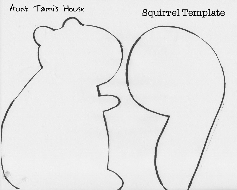 Aunt Tami\'s House: Skunks and Squirrels