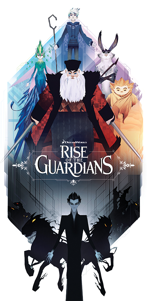 The Geeky Nerfherder: 'Rise Of The Guardians' Alternative ...