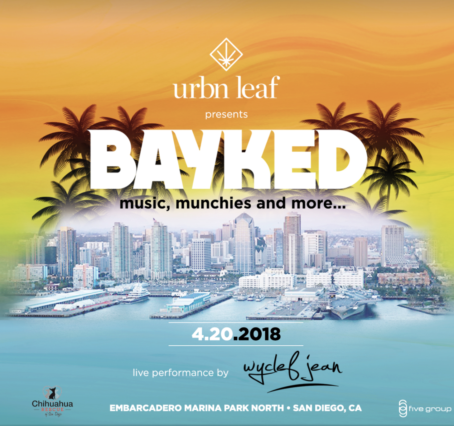 Save on passes & Enter to win VIP tickets to San Diego's Bayked 4/20 Festival!