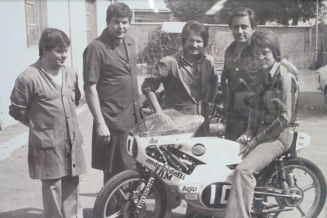 Giancarlo morbidelli e le moto