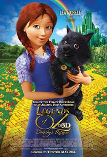 Legendele din Oz: Intoarcerea lui Dorothy