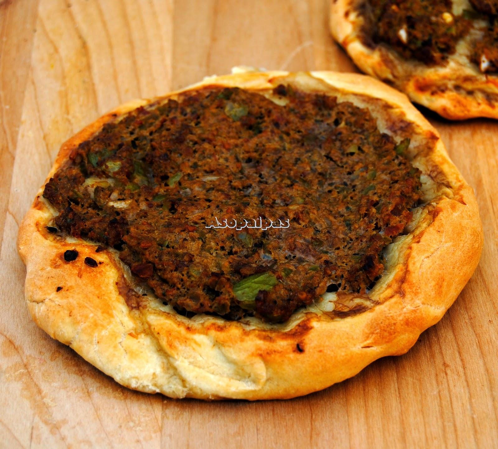 Lahmadshun (Pizza de Carne Picada Armenia)