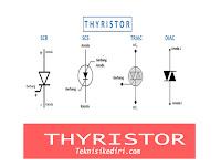Pengertian THYRISTOR Beserta Prinsip Kerjanya - Elektronika Dasar