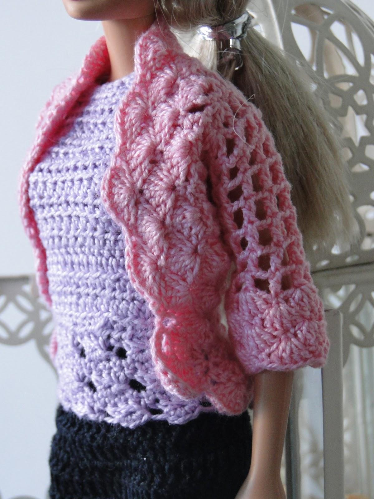 Roupa de Crochê Para Barbie Por Pecunia MillioM 3