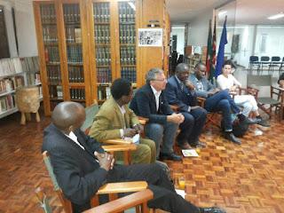 L'incontro all'Istituto Italiano di Cultura di Nairobi