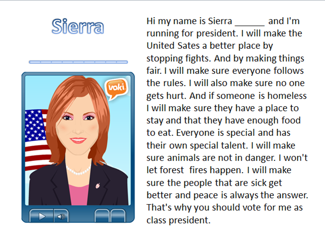 Student Council Speech Sample