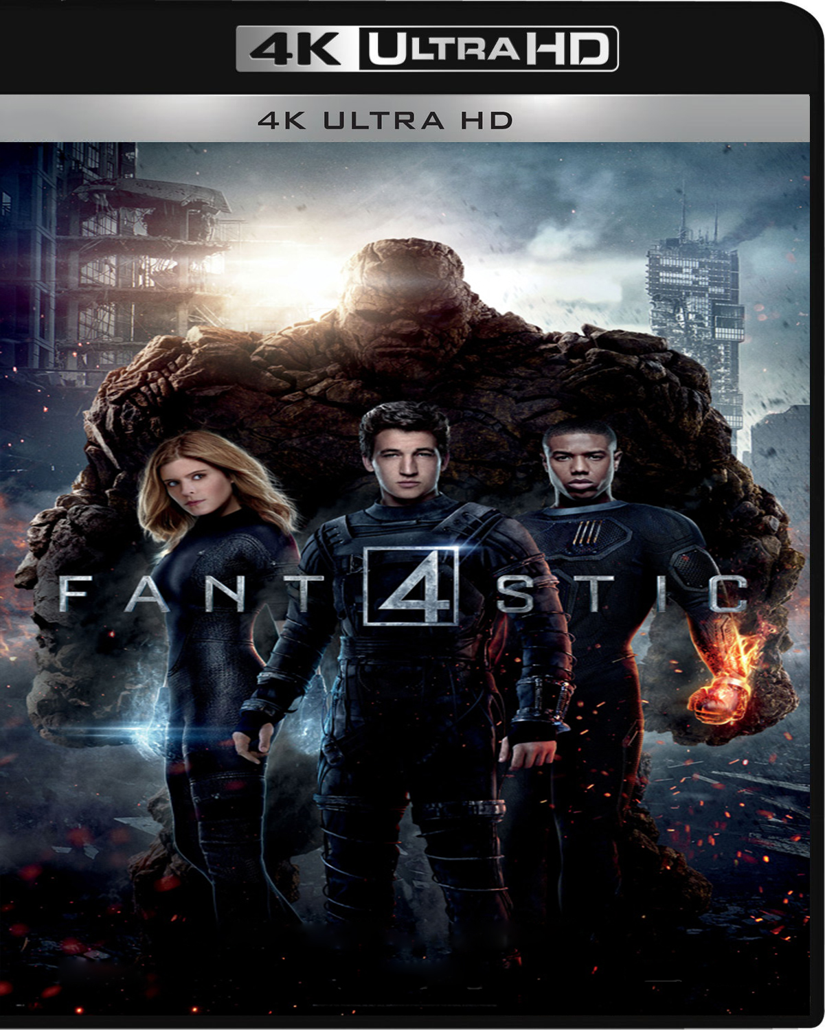 The Fantastic Four [2015] [UHD] [2160p] [Latino]