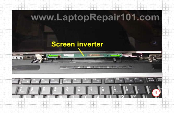 How to test LCD screen inverter in a laptop