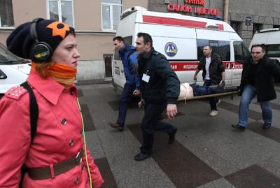 Suspect in the Russia train blast identified as Akbarjon Djalilov from Kyrgyzstan