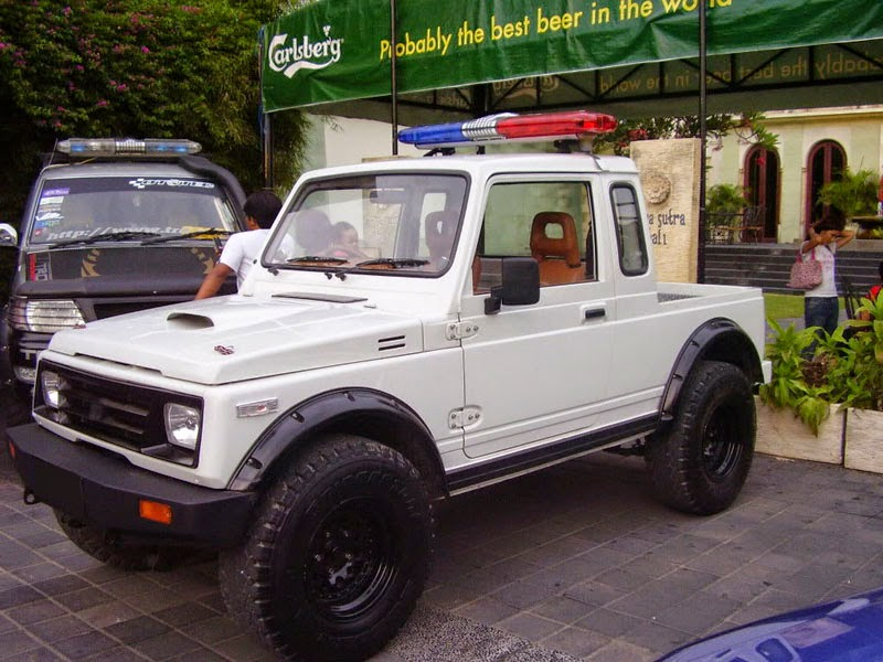 modifikasi mobil suzuki jimny pick up