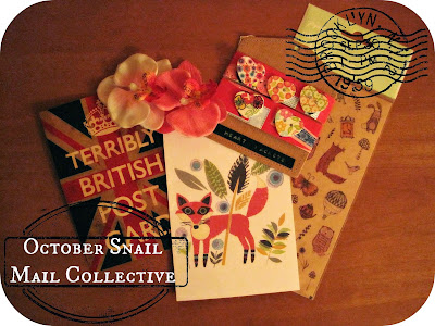 October Snail Mail Reveal + Thankful Project {Day 4}