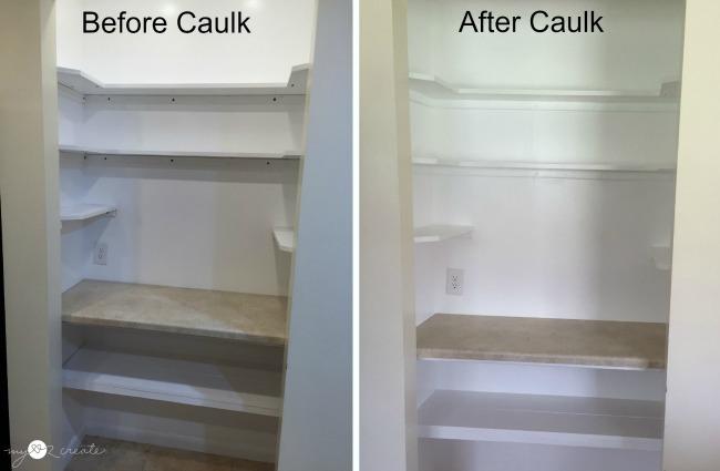 Caulking Shelves