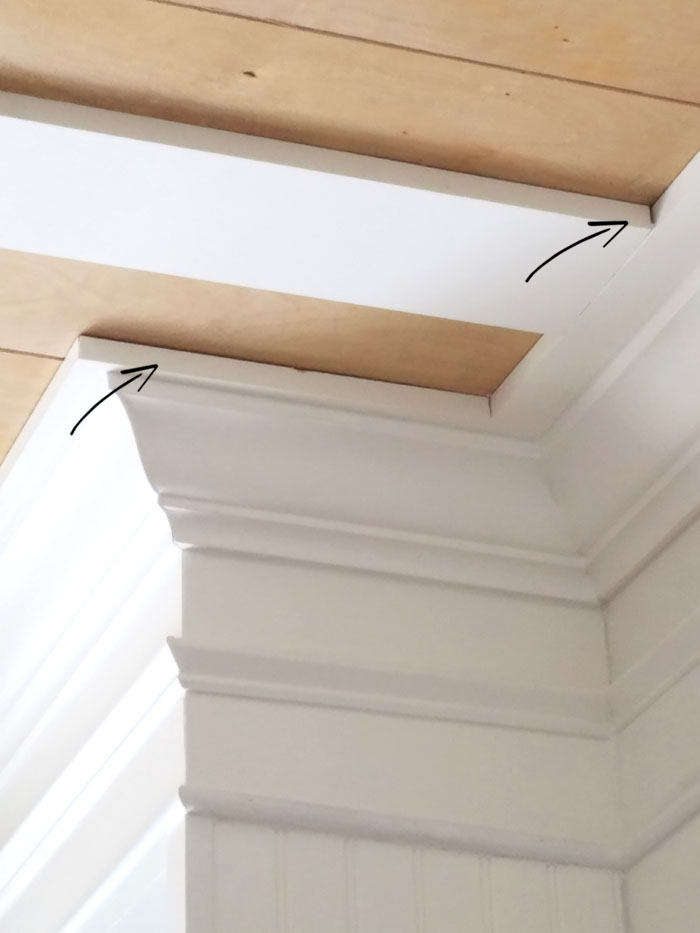 DIY - Rustic Coffered Ceiling and Ryobi Tools Giveaway ...