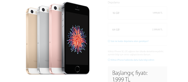 iphone SE özellikleri ve türkiye fiyatı 9
