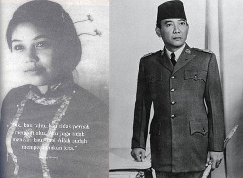 soekarno wife