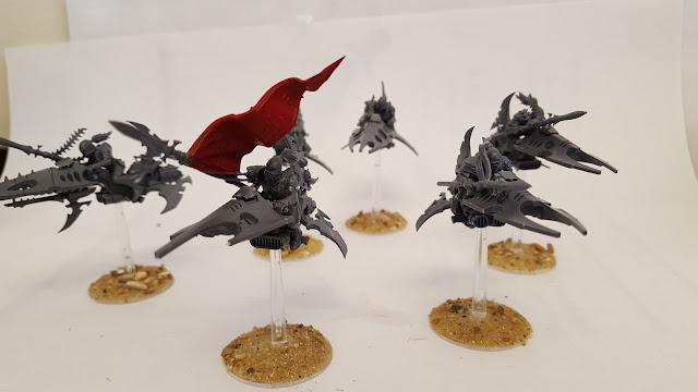 starter army aeldar eldar 500 point saim-hann wild rider shining spears jetbike army list