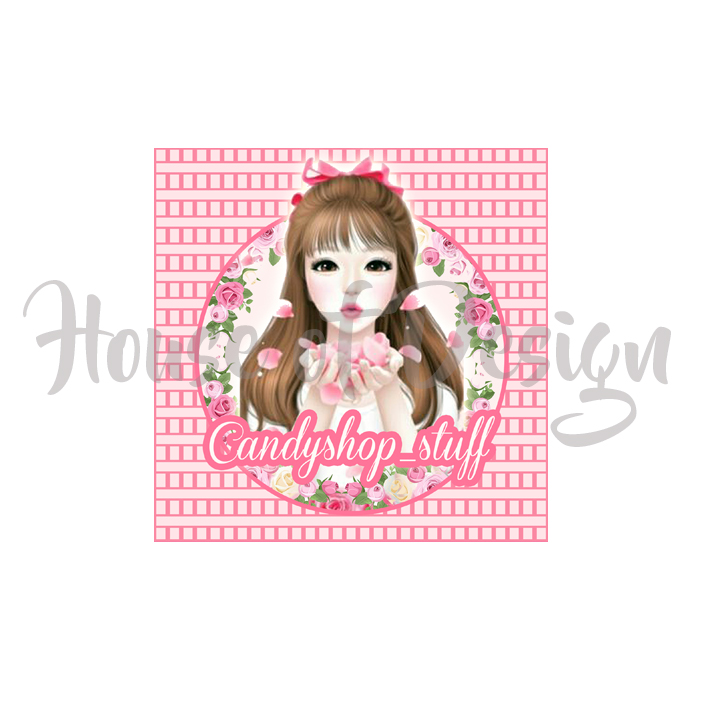 DESIGN LOGO PRODUK FASHION CANDYSHOP STUFF