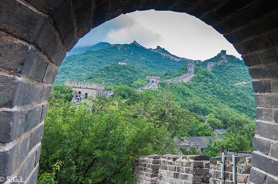 Muralla China. Destinos soñados grandes viajes