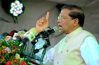 Résultat d'images pour  presidet  srilanka