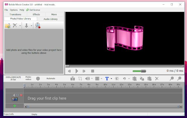 تعرف على Bolide Movie Creator ... إصنع، عدل و انشر فيديوهات و أفلامك الخاصة بصفر خبرة في مجال المونتاج