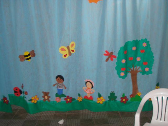 Cortina Em Tnt ~ Aventuras do Saber Ideias para decorar sua sala de aula