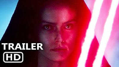 Rey usa sabre de luz vermelho em teaser