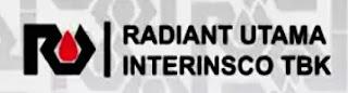 Lowongan Kerja PT. Radiant Utama Interinsco, Tbk, lowongan kerja Kaltim 2020 Terbaru di Kaltara untuk kualifikasi pendidikan SMA SMK D1 D3 D4 dan atau S1 S2 lainnya