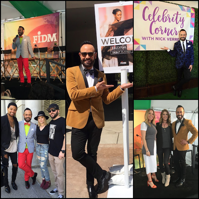 NICK APPEARANCES.....FIDM DEBUT 2016 Educators Luncheon, Open House and Fashion Club Party: The BLOG RECAP!