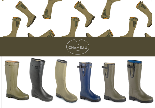 Le Chameau AW1516 Range Of Wellington Boots - Complete Outdoors