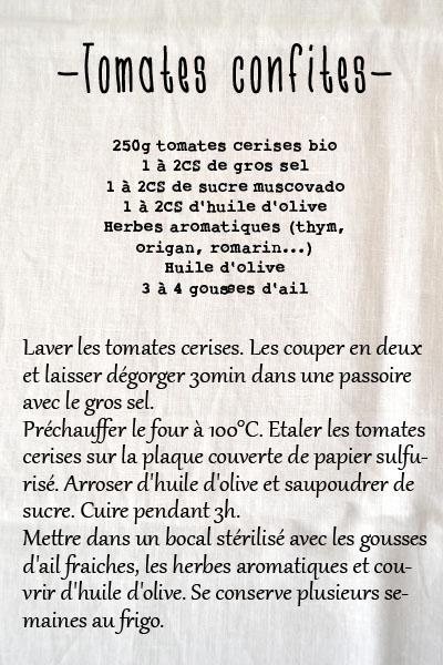 recette tomates confites spoonencore