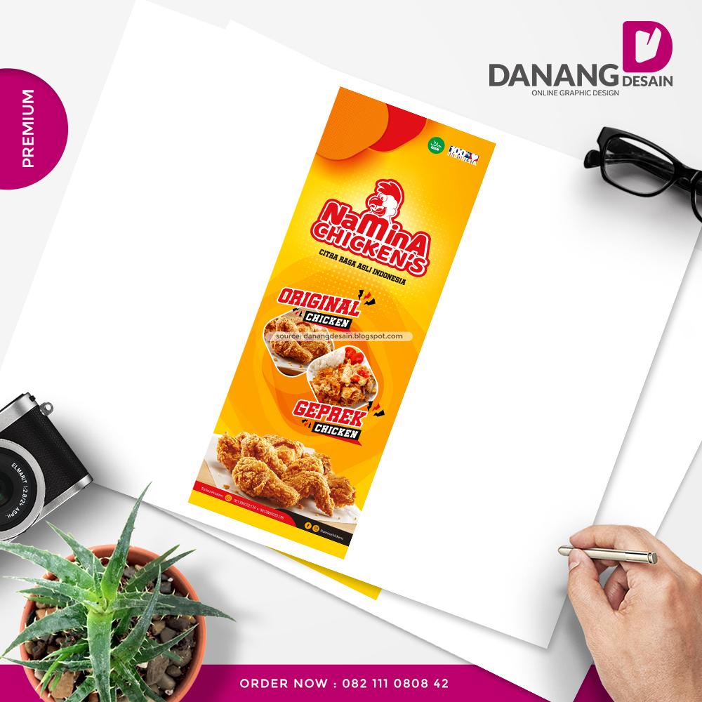 Contoh Desain Spanduk Banner Fried Chicken - Contoh Desain ...