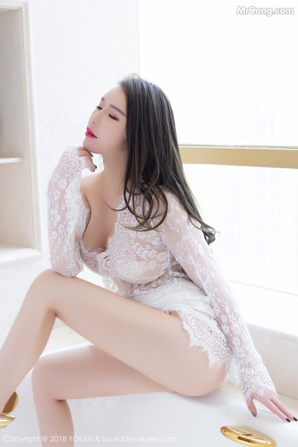 Image YouMi-Vol.113-Egg-MrCong.com-008 in post YouMi Vol.113: Người mẫu Egg-尤妮丝 (42 ảnh)