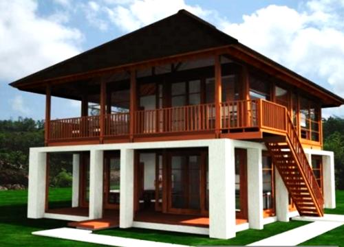 Design Rumah Kampung Moden Desainrumahid com