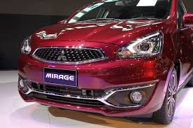 Mirage Facelift, City Car Terbaru Keluaran Mitsubishi