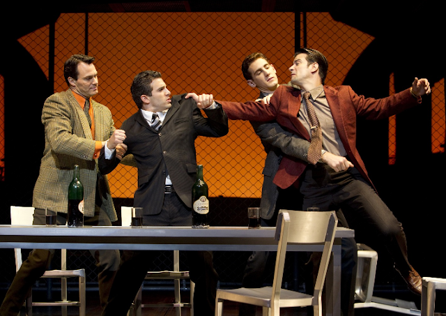 Musical Jersey Boys na Broadway em Nova York