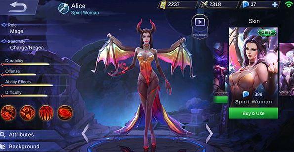 Build Item Gear dan Emblem Set Alice Terkuat di Mobile Legends