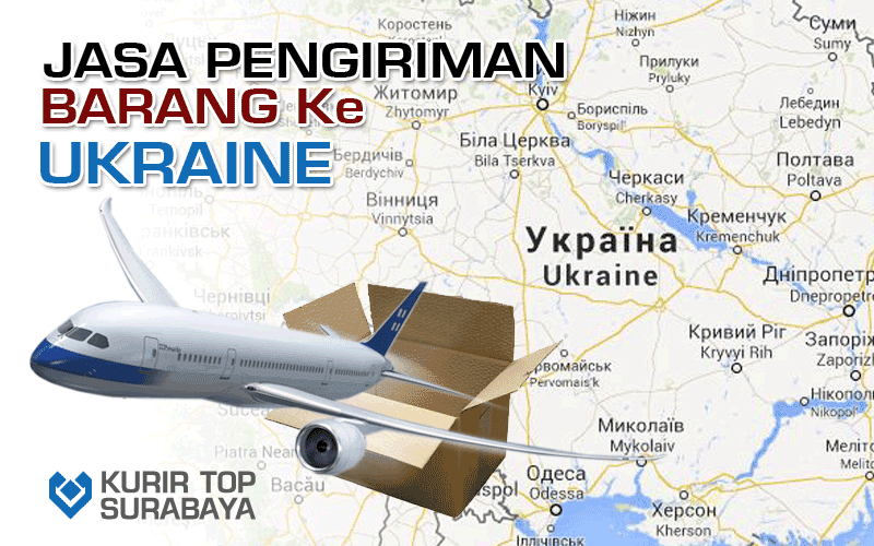 JASA PENGIRIMAN LUAR NEGERI | KE UKRAINA