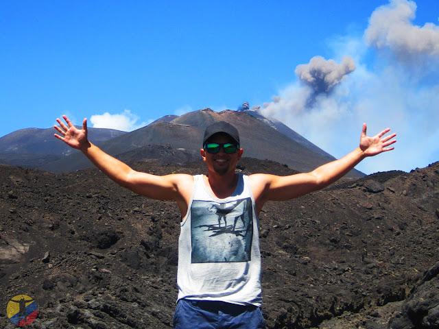 El Viajero Tricolor volcán Etna