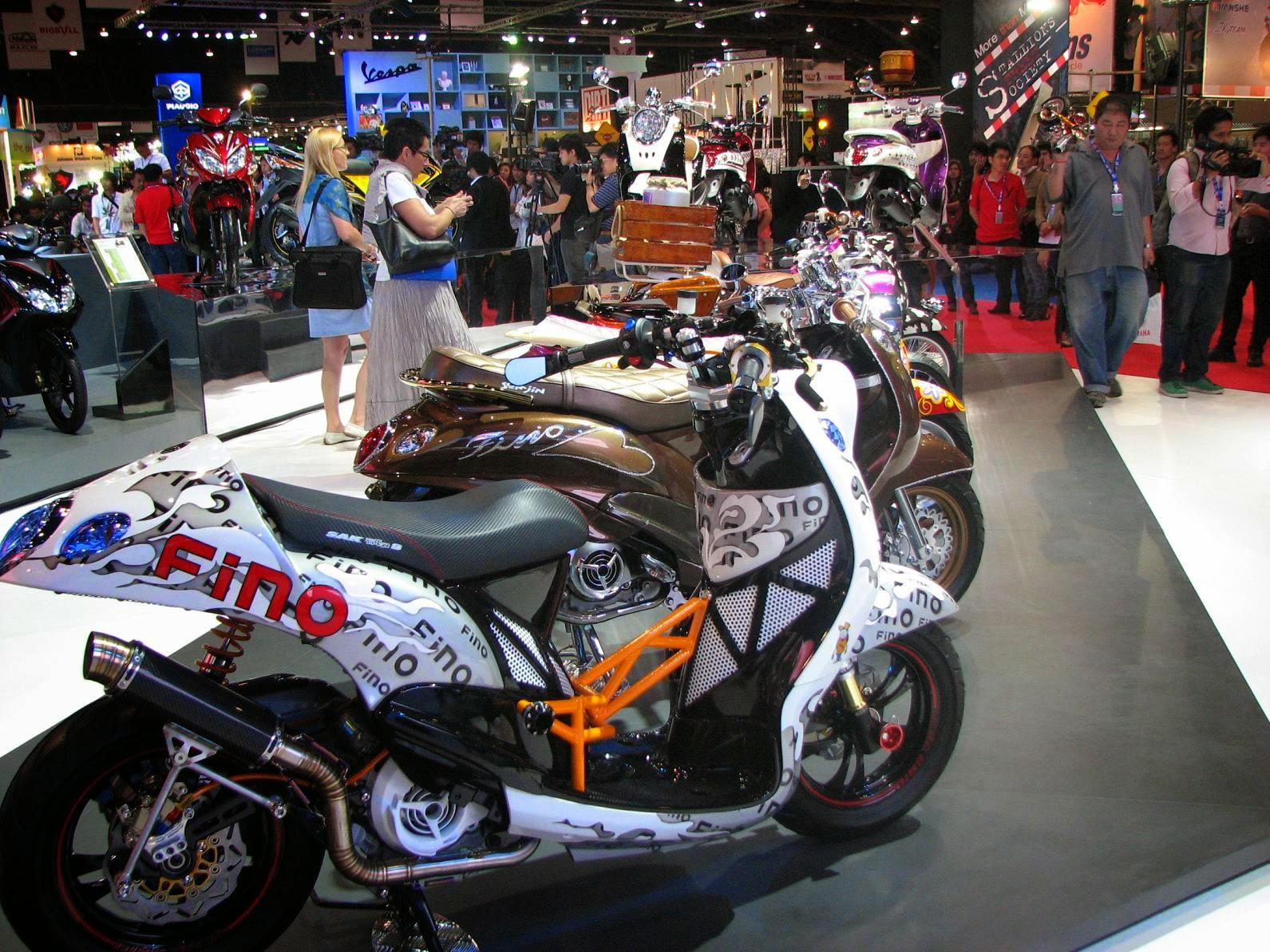 Modifikasi Yamaha Mio Cafe Racer Milik Youtuber