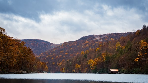 Cheat Lake in Autumn