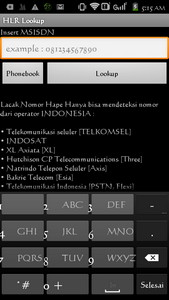 Cara melacak nomor handphone - HLR