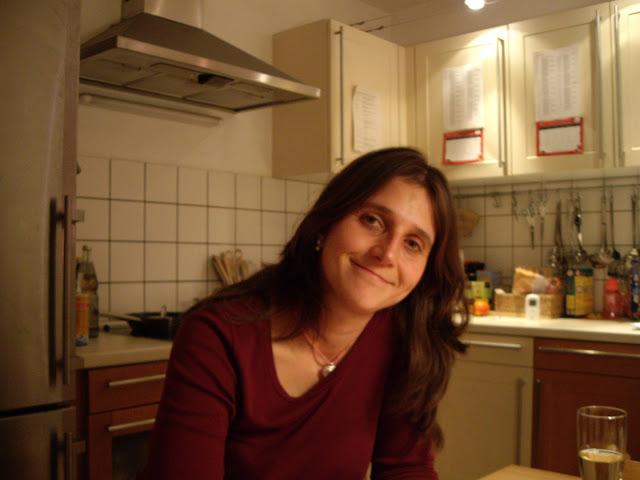 Yushka in ihrer Küche Ende 2008