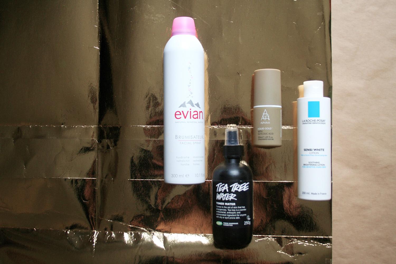 Shiwashiful Empties 12 Evian Facial Spray 300ml